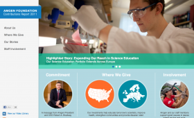 Amgen Foundation Contributions Report