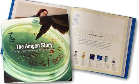 Amgen 25th Anniversary Coffee-Table Book