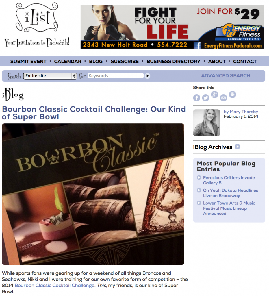 bourbon blog