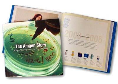 Amgen 25th Anniversary Book