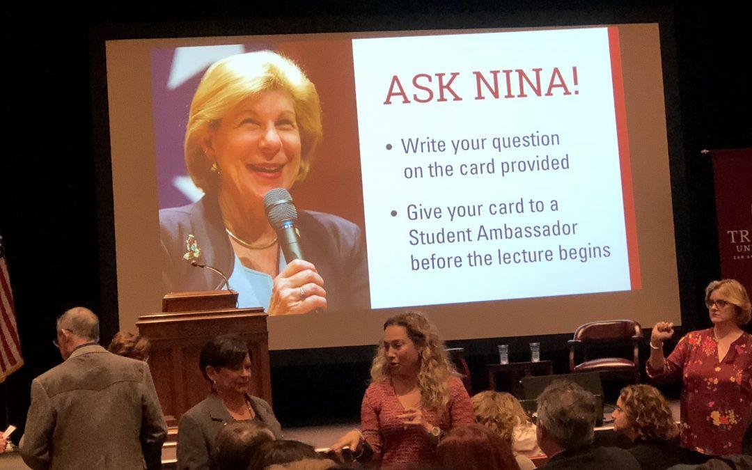 Nina Totenberg Talks Supreme Court – and the Polarization of Us All
